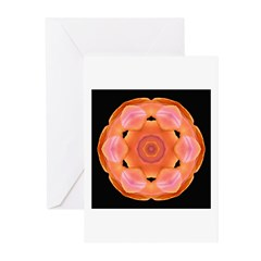 Orange Tulip I Greeting Cards (Pk of 10)