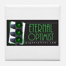 Eternal Optimist Tile Coaster