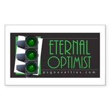 Eternal Optimist Rectangle Decal