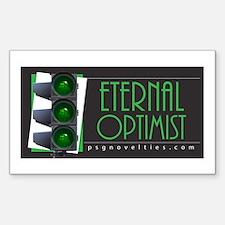 Eternal Optimist Rectangle Sticker 10 pk)