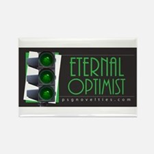Eternal Optimist Rectangle Magnet