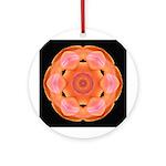 Orange Tulip I Ornament (Round)