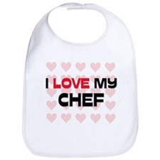 I Love My Chef Bib