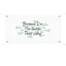 Because Judge Banner