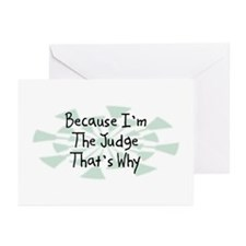 Because Judge Greeting Cards (Pk of 20)