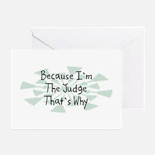 Because Judge Greeting Cards (Pk of 20)