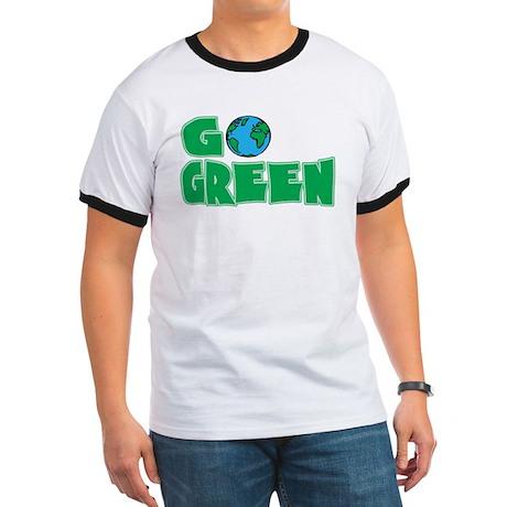 Go Green Ringer T