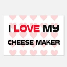 I Love My Cheese Maker Postcards (Package of 8)