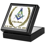 Masonic 50 Year Member Keepsake Box