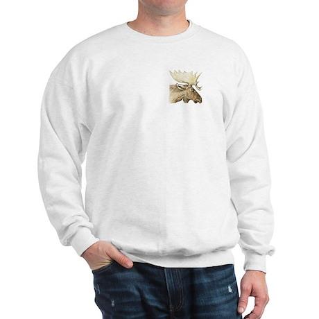 moose drawing Sweatshirt