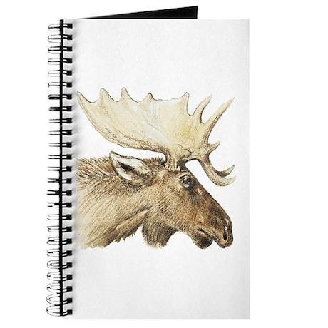 moose drawing Journal