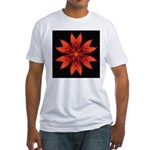 Orange Lily II Fitted T-Shirt