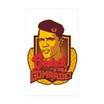 Barack Is My Comrade Rectangle Sticker 50 pk)