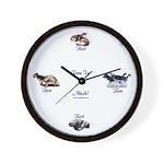 MCK Racing Siberians Wall Clock