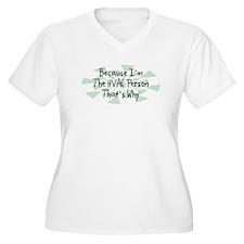 Because HVAC Person T-Shirt