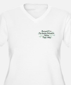 Because Human Resources Person T-Shirt