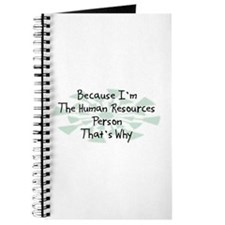 Because Human Resources Person Journal