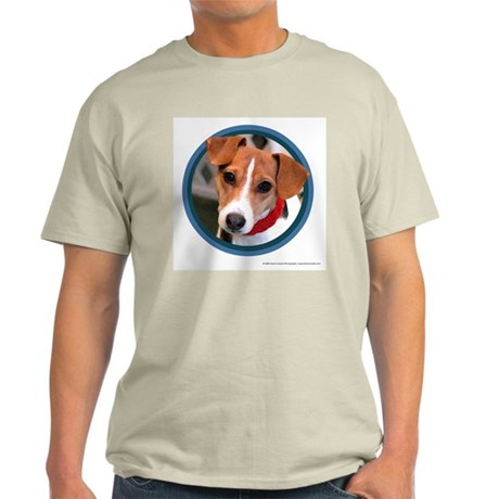 Jack Russell Terrier Ash Grey T-Shirt