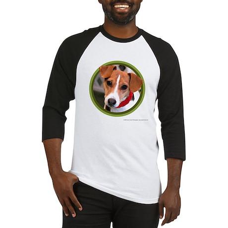 Jack Russell Terrier Art Baseball Jersey