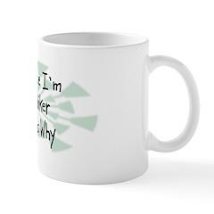 Because Hiker Mug