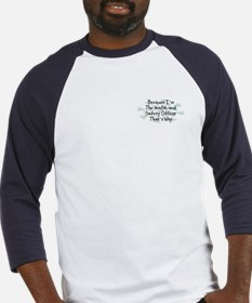 Because Health and Safety Officer Baseball Jersey
