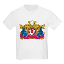 Myanmar Coat Of Arms Kids T-Shirt