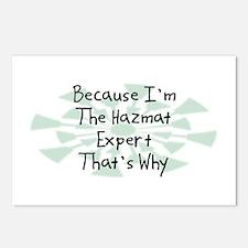 Because Hazmat Expert Postcards (Package of 8)