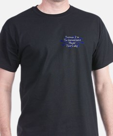 Because Harpsichord Player T-Shirt
