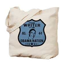 Writer Obama Nation Tote Bag