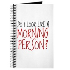 Not A Morning Person Journal