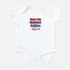 Abbie's Sidekick (Left) Infant Bodysuit