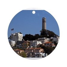 San Francisco Ornament (Round)