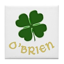 Irish O'Brien Tile Coaster