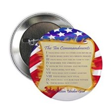 Ten Commandments Button