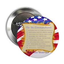 Ten Commandments Button