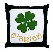 Irish O'Brien Throw Pillow