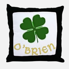 Irish O'Brien Throw Pillow