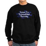 Because Grandfather Sweatshirt (dark)