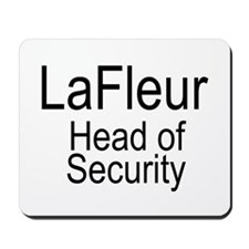 LaFleur Security Mousepad