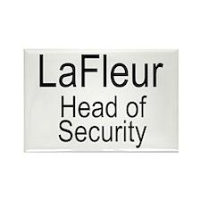 LaFleur Security Rectangle Magnet
