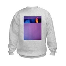 HOT COLORS AND COOL TEXTURES Sweatshirt