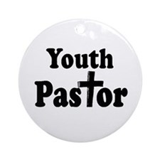 Youth Pastor Ornament (Round)