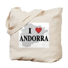 I Love Andorra Tote Bag