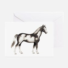 Pinto Horse Greeting Cards (Pk of 10)