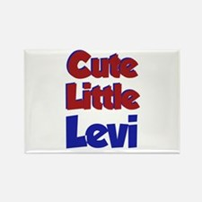 Cute Little Levi Rectangle Magnet