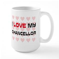 I Love My Chancellor Mug