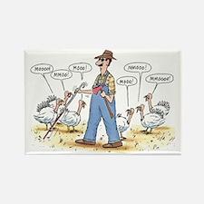 Thanksgiving Mooo Rectangle Magnet (100 pack)