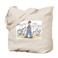 Thanksgiving Mooo Tote Bag