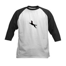 Black Dock Jumping Dog Tee