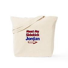 Jordan's Sidekick (Right) Tote Bag